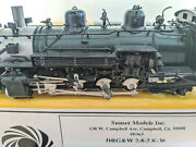 Brass Dandrgw K-36 2-8-2 Steam Loco Sunset Hon3 Can Motor And Runs Great L@@k