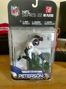 Mcfarlane Nfl Series 22 Adrian Peterson Gold 63/500 Chase Variant