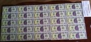 25 Disney Dollar - 1 Captain Hook In Sequential Order - Uncirculated
