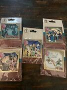 Disney Dec Mulan Movie Characters Cluster Set Of 5 Pins Le250 New In Hand