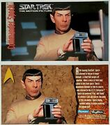 Rare Playmates Skybox Unreleased Spock Classic Star Trek Movie Widevision Card