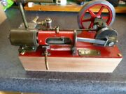 Vintage Live Steam Engine Model = Works - Very Well Made/machined
