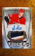 2018-19 Ud The Cup Andrei Svechnikov Rookie Patch Auto /99 On Card Autograph Rc