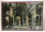 F.x. Schmid Puzzle St. Peter's Cathedral Rome Giovanni Paolo Panini 5000 Pc New