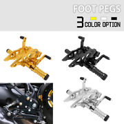 Adjustable Footpegs Rearsets Set For Yzfr15 Yzf-r15 V3 2017 2018 2019 Motorcycle