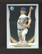2014 Bowman Chrome Jacob Degrom Certified Rookie Card Bcp73 Mets Phenom Hot