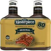 Kc Masterpiece Bbq Sauce 2pk N/a N/a Barbecue Sauce Size Os