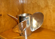 Turbo 3 Blade Stainless Prop 15 Spline 13 1/4x21 Pulled From Mercury 150hp Xr4
