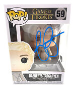 Emilia Clarke Signed Autograph And039game Of Thronesand039 Funko Pop Beckett Bas Got 5