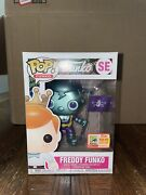 Funko Pop Freddy Funko Space Robot Teal Metallic Se 2018 Sdcc Limited Edition