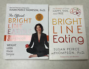 The Official Bright Line Eating Book And Bright Line Eating Cookbook Lot
