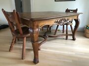 Louis Xv French Antique Dining Table