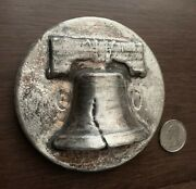 1 Kilo 32.15 Oz Silver Liberty Bell From Mk Barz / 025 Of Sold Out L.e.