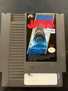 Jaws Old Video Game Nintendo Entertainment System 1987 Nes Cartridge Only 🕹️🕹