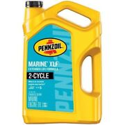 Pennzoil Marine Xlf Engine Oil 1 Gallon Outboard 2 Cycle Oil Mixes Extended Life