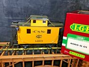 Lgb 4065 G 01 C And S Bobber Caboose New In Box G Scale