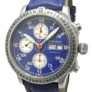 Longines Lindbergh Automatic L2.618.4 Chronograph Day/date Menand039s Watch Wl31747