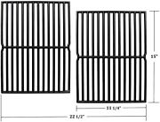 15 Grill Cast-iron Cooking Grates For Weber Genesis Silver A Spirit E210 2pcs