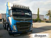 To Fit 13+ Volvo Fm4 Euro6 Low Cab Roof Bar+jumbo Led Spots+leds+clear Beacons