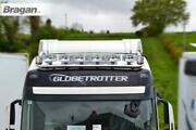 To Fit Daf Xf 106 2013+ Space Cab Roof Bar+jumbo Led Spot Lamps+leds+beacons