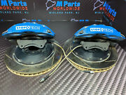01-06 Bmw E46 M3 Front Brake Calipers Rotors Bbk Left Right Set Stoptech 380mm