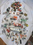 Set Lot Lego Vehicle Truck Plane Play Building Toy Minifig Creative