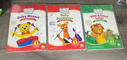 Lot Of 3 Baby Einstein Dvds Cds 5 Disks Discovery Kit Mozart Beethoven Safari