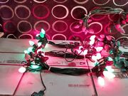 7 Sets Lot Of C7 Vintage Used Christmas Lights Working Holiday String Bulbs 140and039