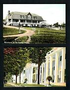 C8 Manchester, Vt. 2pcs. Vintage The Equinox - The Country Club Panorama, Unused