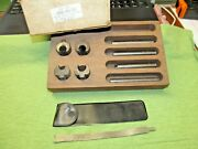 Ilco Pn 898-00-51 Plug Holder And Follower Set - May Not Be Complete - See Pics