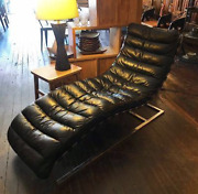Restoration Hardware Leather And039oviedoand039 Lounge Chair