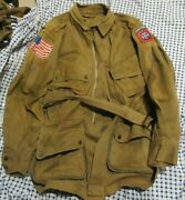 Reproduction Us Army Ww2 Paratrooper Reinforced M1942 Jump Jacket Size 48 82nd
