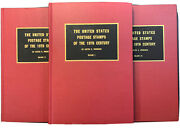 Wpl Books The Us Postage Stamps Of The 19th Century. Lester G. Brookman