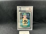 1989 Pacific Legends Ii 193 Catfish Hunter Auto Bgs A's Yankees