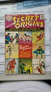 Dc Secret Origins Of... 1a [imo Vg-4] Interior Pages [imo Vf+8.5] All In One