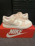 Nike Dunk Low Womens Sail Orange Pearl Sz 6 W/ 4.5 M In Hand And Ready To Ship
