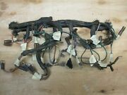 Jaguar. Daimler, Etc., Dashboard Center Console Wiring Harness - Used And Notated