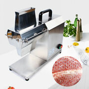 Sale 110v Commercial Electric Meat Tenderizer Steak Machine Stainless Steel Tool