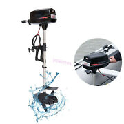 Outboard Motor 2.2kw Boat Engine Electric 8hp 48v Brushless Engine Fishing Tools