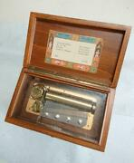 Reuge Music Box Swiss Made Antique Collection 1990s Original Free Shipping Japan
