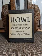 Allen Ginsberg Howl And Other Poems 8th Printing 1959 City Lights Books Kerouac