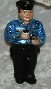Police Policeman Glass Christmas Ornament Nordstrom At Home New
