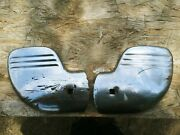 Vintage 1940s Ford Car, Truck Wing Tip Bumper Guard Wraps