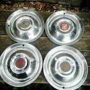 51 52 Cadillac Standard Wheelcovers/hubcaps 15 Set Of 4 1951 1952. Condition Is