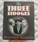 The Three Stooges New Sealed The Ultimate Collection Dvd 20-disc Set