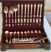 1847 Rogers Brothers, International Silver, Remembrance, Silver-plated Flatware