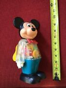 Toy Robot Vintage Antique 1978 Mickey Mouse Wind Up Collection Rare New Bright
