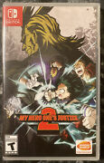 New Sealed My Hero One's Justice 2 Nintendo Switch, 2020
