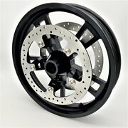 Harley 19andrdquo Front Wheel Enforcer/impeller Style Kit With 14 Brake Rotors Non-abs