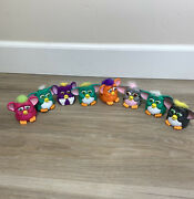 Lot Of 8 Mcdonalds 1998 Happy Meal Furby Plastic Toys Tiger Electronics
